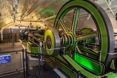 伦敦塔桥梁机械 免版税库存照片
