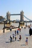 伦敦塔桥梁,大英国 免版税库存图片