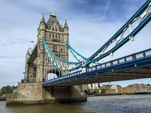 伦敦塔桥梁,英国 免版税库存图片