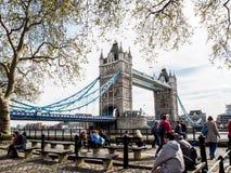 伦敦塔桥梁,英国 免版税图库摄影