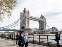 伦敦塔桥梁,英国 免版税库存照片