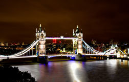 伦敦塔桥梁 库存照片