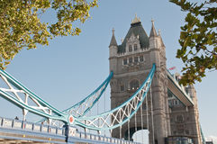 伦敦塔桥梁 免版税库存照片
