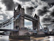 伦敦塔桥梁2016年 库存照片