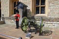 伦敦塔英王卫士 免版税库存图片