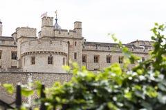 伦敦塔,中世纪防御建设,伦敦,英国 图库摄影