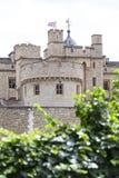 伦敦塔,中世纪防御建设,伦敦,英国 免版税库存图片