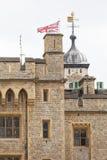 伦敦塔,中世纪防御建设,伦敦,英国 库存图片