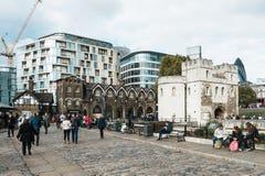 伦敦塔,英国,英国 免版税库存照片