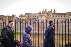 伦敦塔,英国 图库摄影