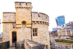 伦敦塔,英国 库存照片