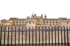 伦敦塔,英国 免版税图库摄影