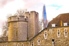伦敦塔,英国 库存图片