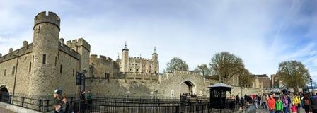 伦敦塔,英国 免版税库存照片