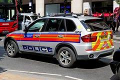 伦敦大城市警察BMW汽车 库存图片