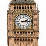 伦敦大本钟时钟 库存照片
