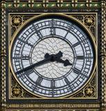 伦敦大本钟时钟 免版税库存照片