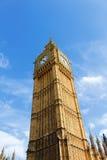 伦敦大本钟Clocktower 免版税库存照片