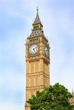 伦敦大本钟Clocktower 库存照片