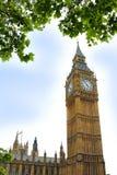 伦敦大本钟Clocktower 库存图片