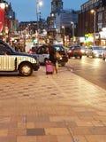 伦敦天公共汽车站 免版税库存图片