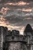 伦敦天空 库存图片