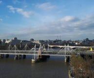 伦敦天空 库存照片