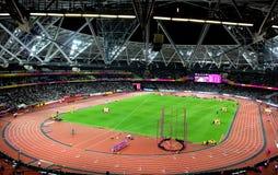 伦敦奥林匹克体育场 免版税库存照片