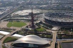 伦敦奥林匹克体育场 免版税图库摄影