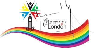 伦敦奥林匹克 免版税库存图片