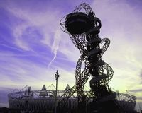 伦敦奥林匹克2012年ArcelorMittal轨道 免版税库存照片