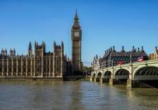 伦敦威斯敏斯特桥梁 免版税库存图片