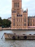 伦敦宫殿威斯敏斯特 库存照片