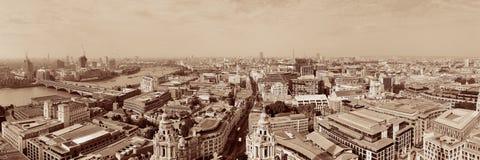 伦敦屋顶视图 库存照片
