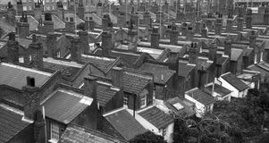 伦敦屋顶 免版税库存照片