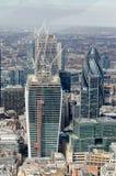 伦敦市地平线 免版税库存照片