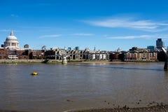 伦敦市地平线 免版税库存图片