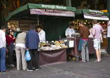伦敦市场 库存照片