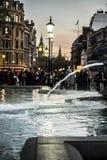 伦敦市大笨钟 免版税库存图片