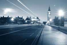 伦敦市威斯敏斯特大本钟都市场面概念 库存图片