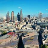 伦敦市屋顶 库存照片