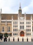 伦敦市政厅大厦 图库摄影