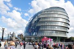 伦敦市政厅 免版税库存图片