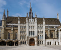 伦敦市政厅 免版税图库摄影