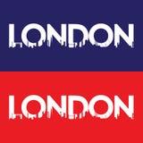 伦敦市标签 库存图片