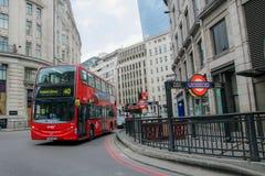 伦敦市街道 免版税库存照片