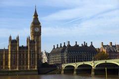 伦敦市视图 免版税库存照片
