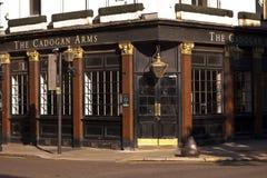 伦敦市视图 免版税库存图片