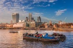 伦敦市,英国的东边 图库摄影