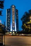伦敦希尔顿公园车道 免版税库存照片
